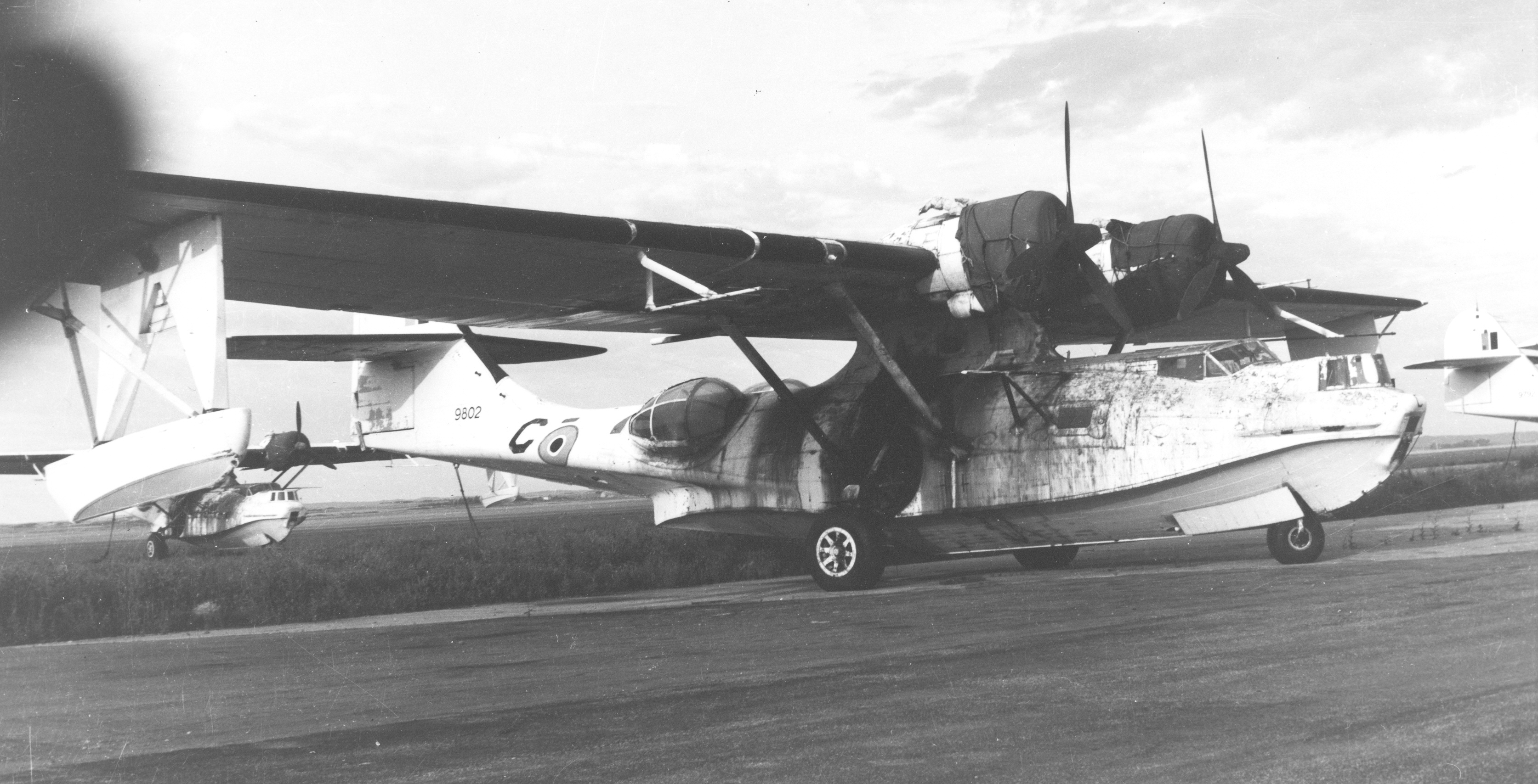 Preceded by the Consolidated Catalina into service, the Canso versions of the aircraft featured a retractable, wheeled undercarriage, which reduced the aircraft's handling difficulties. More than 700 versions of the Canso rolled off Boeing Canada and Canadian Vickers assembly lines and the RCAF was a prime user of this type. PHOTO: DND