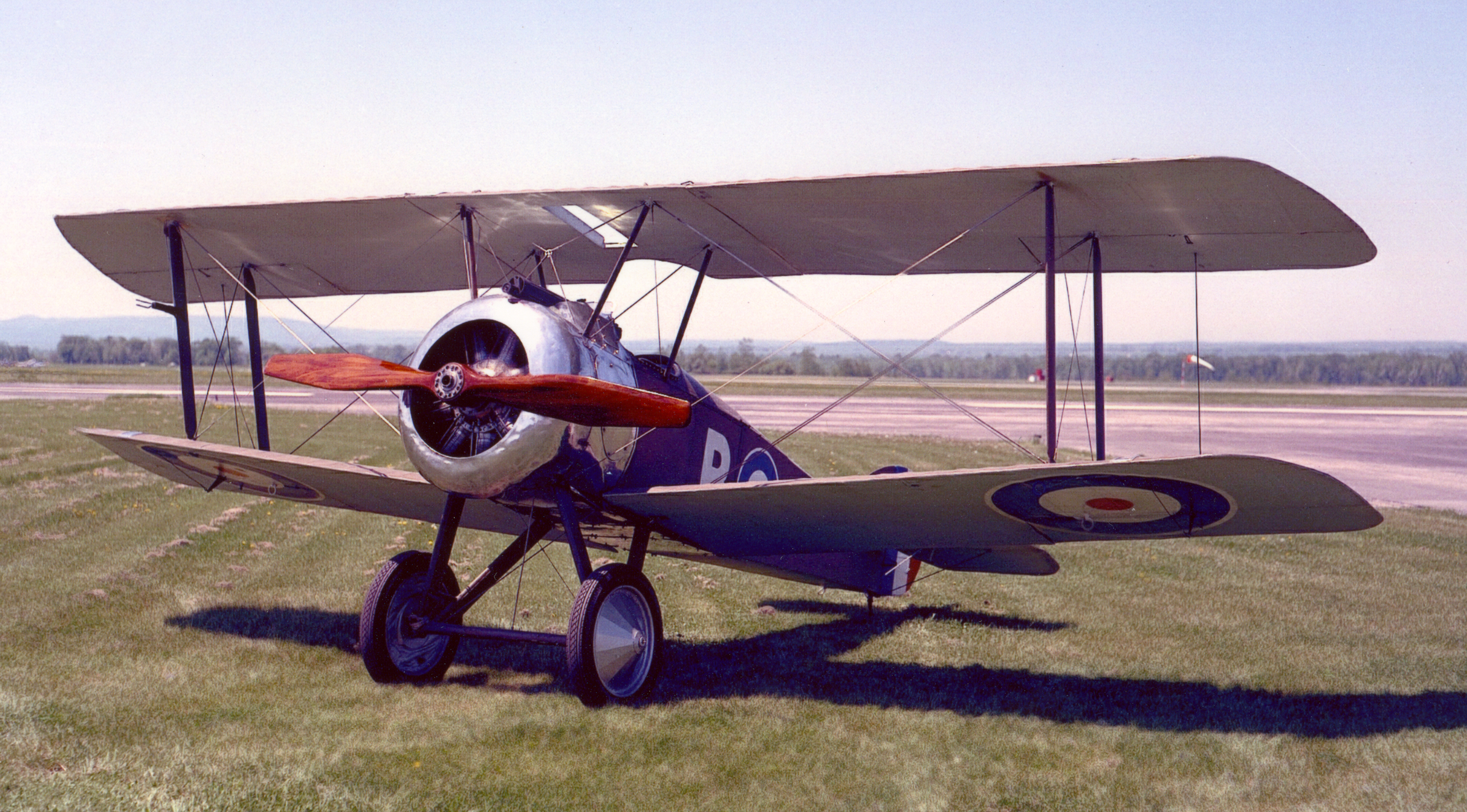 A restored example of a Sopwith Camel, belonging to the Canada Aviation and Space Museum collection. PHOTO: DND Archives, PCN-4592