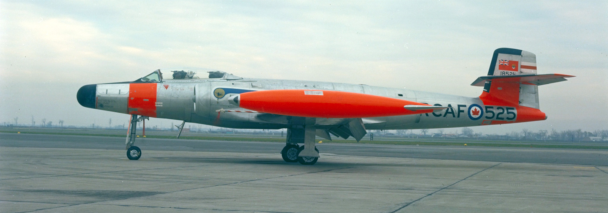 CF-100 Canuck. PHOTO: DND Archives, RNC-1155-2