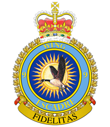 9 Wing crest