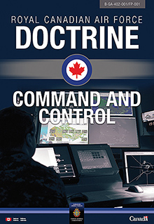 Cover of ##MCECOPY##B-GA-402-001/FP-001, Royal Canadian Air Force Doctrine: Command and Control