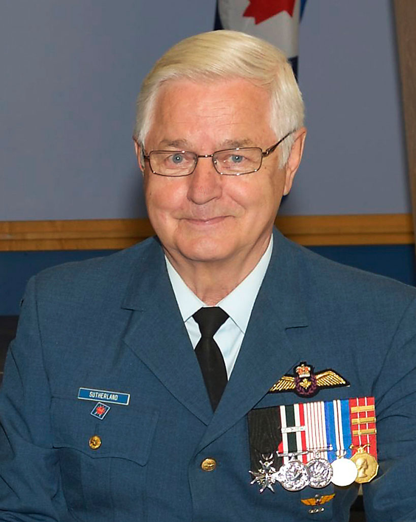 Lieutenant-General (retired) Fred Sutherland