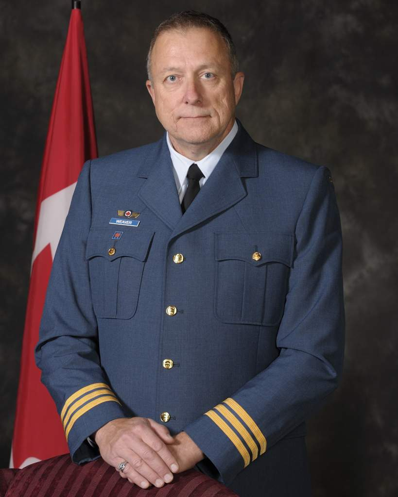Honorary Lieutenant-Colonel Kevin Weaver