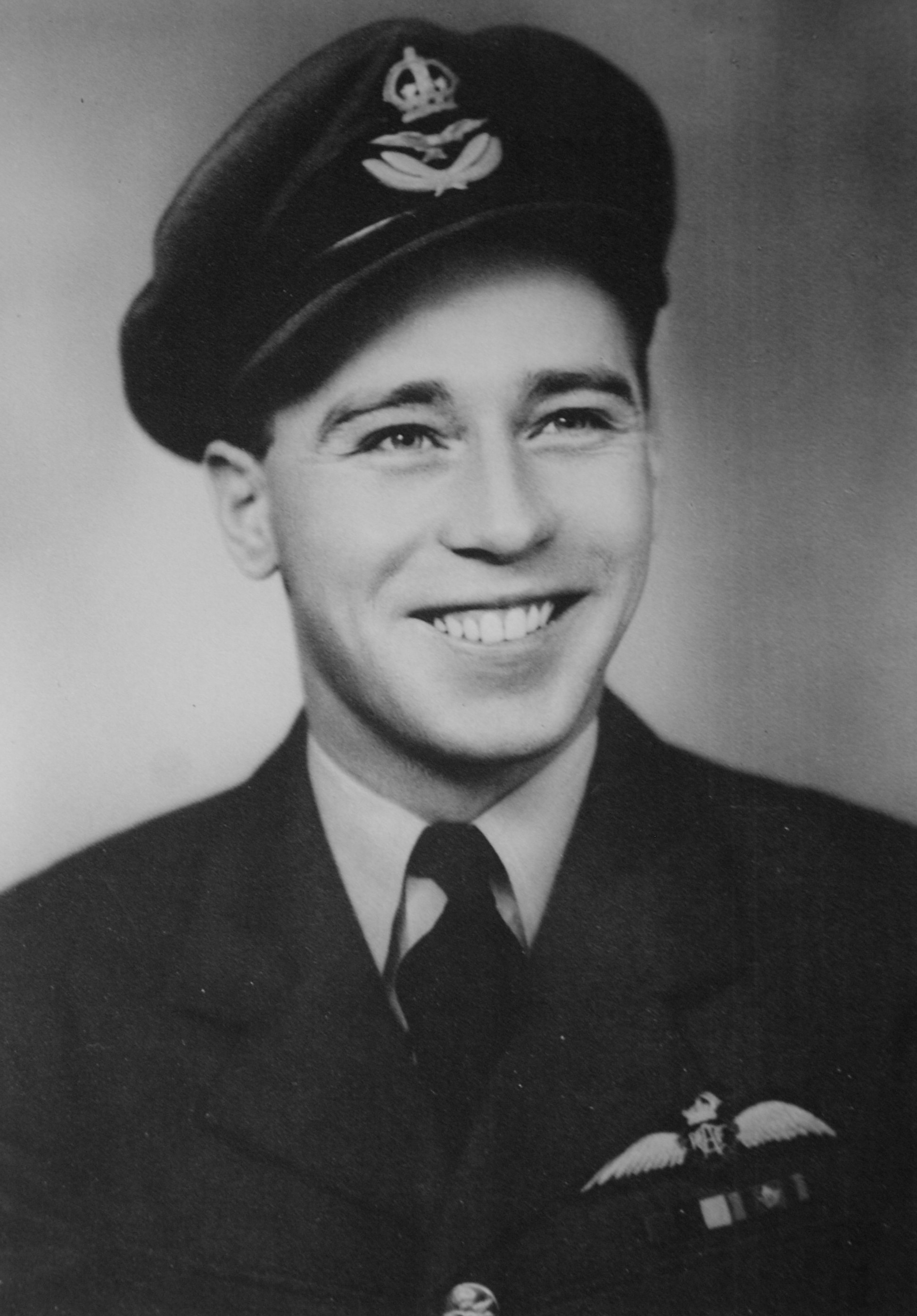 Flight Lieutenant John Colton, age 22. PHOTO: Courtesy John Colton.