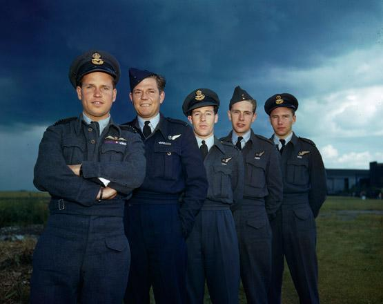 Royal canadian air force news article operation for Bureau raid crew