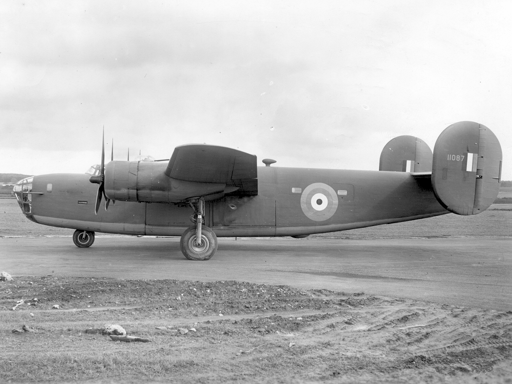 "The ""long legs"" of the Liberator heavy bomber, shown in a Royal Air Force variant, helped close the Atlantic Gap during the Battle of the Atlantic. PHOTO: Royal Air Force"