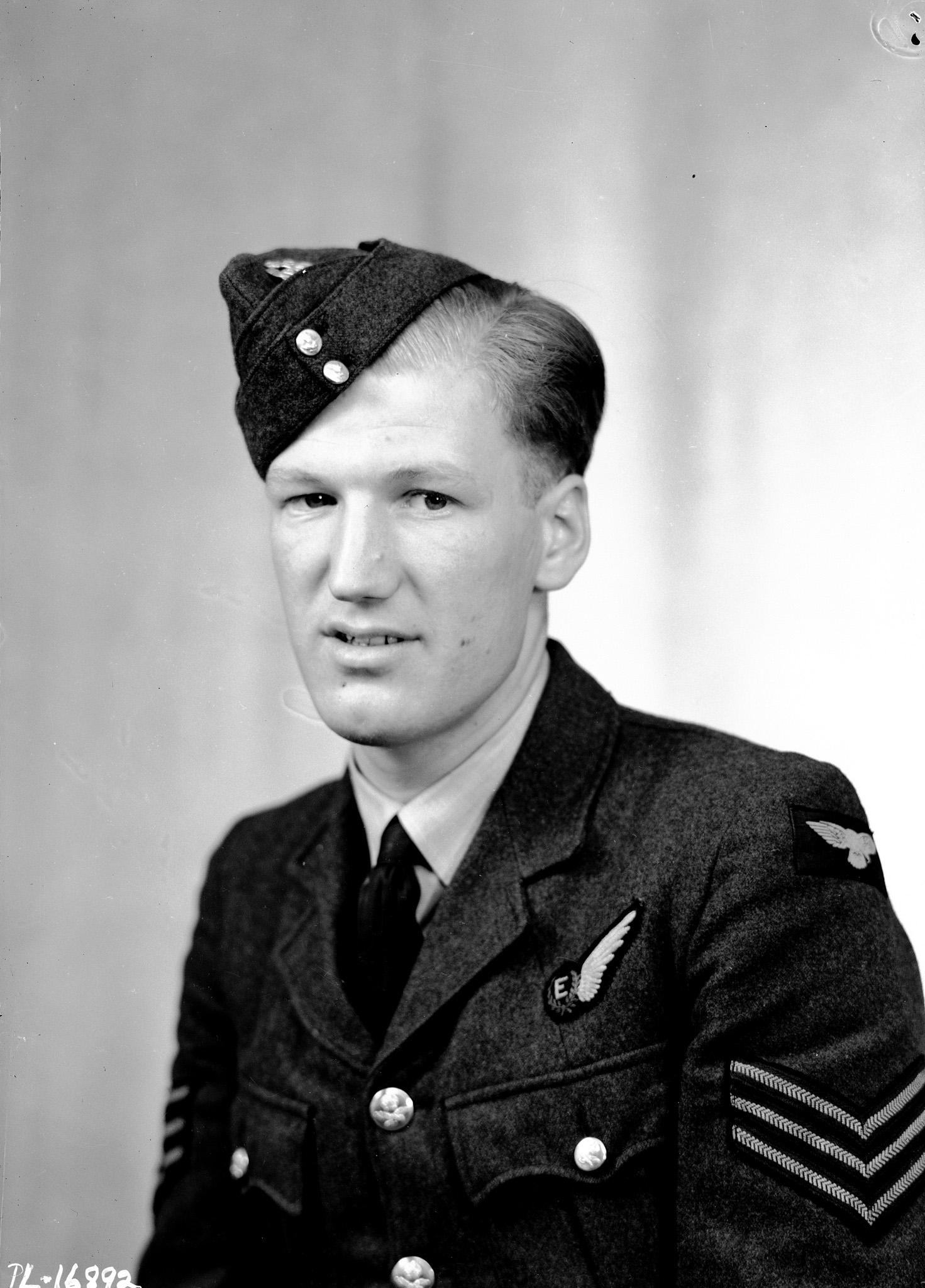 Sergeant William Radcliffe, RCAF, was photographed in London, England, shortly after the Dambusters raid. PHOTO: DND