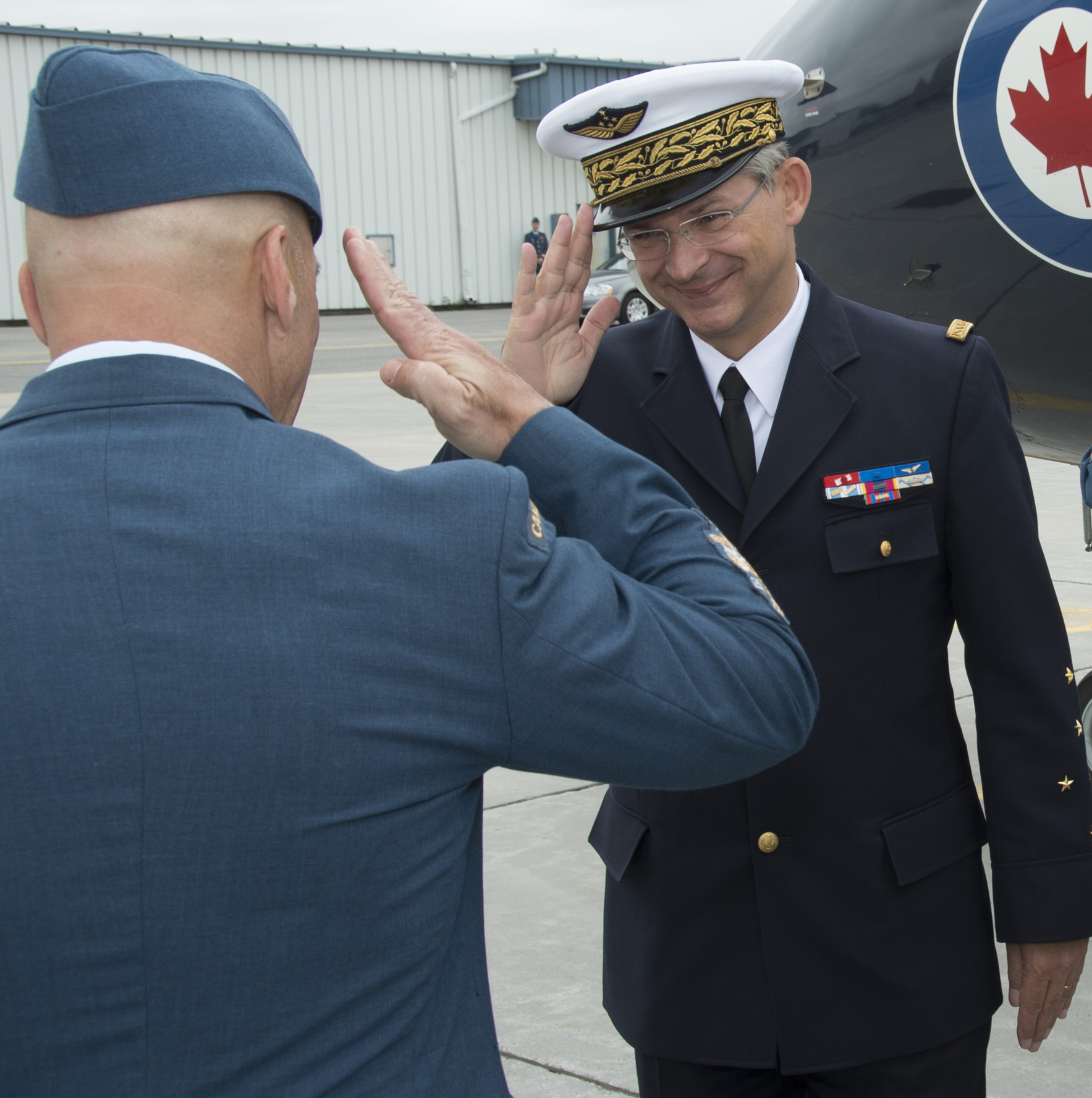 Article | Royal Canadian Air Force | News Article | French and ...