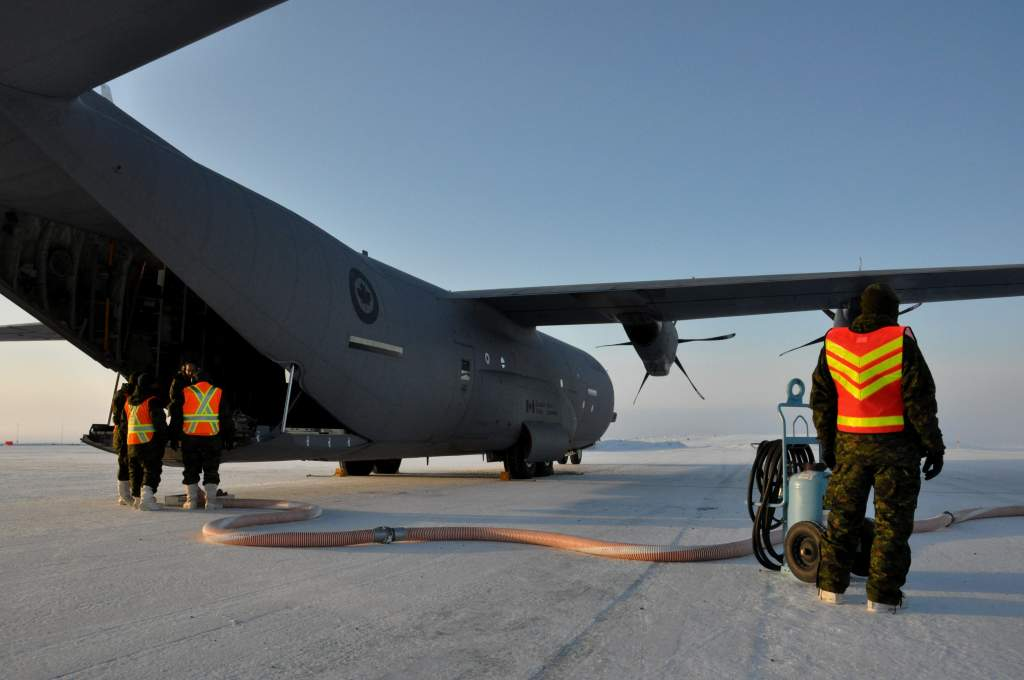 News Article | Operation Boxtop supplies remote Canadian station