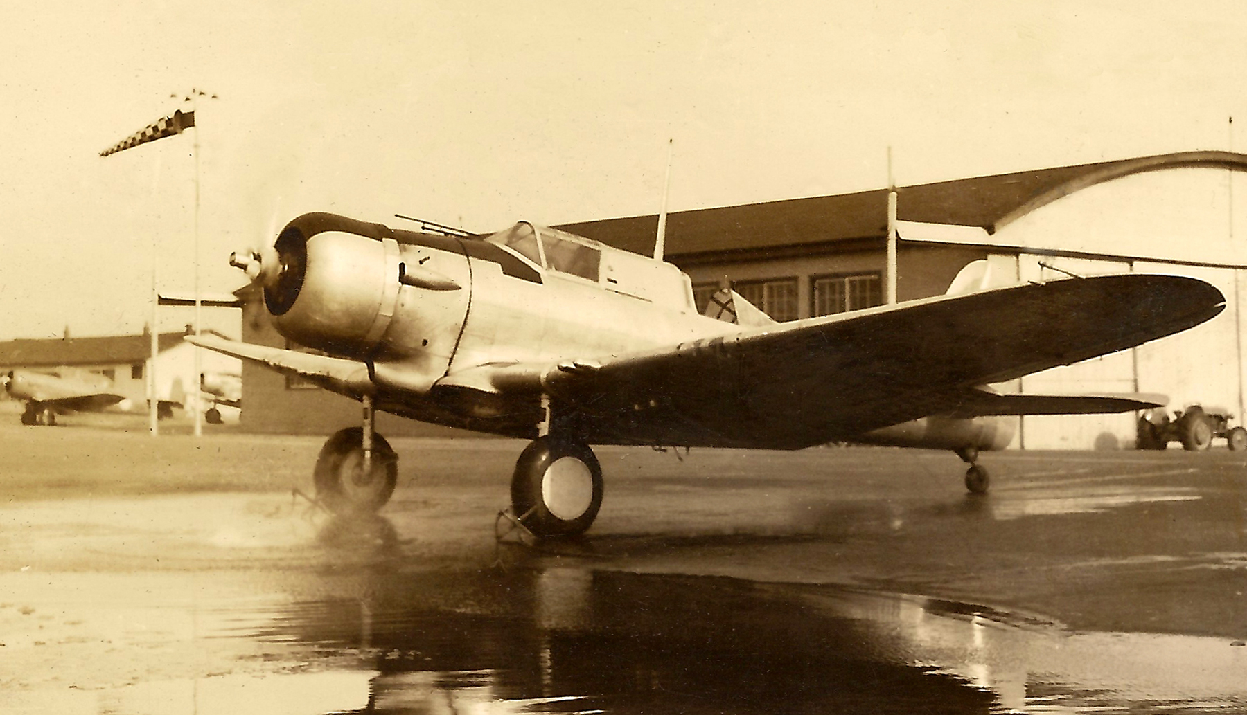 A Second World War-era Northrop Nomad, seen here, is similar to the aircraft that went down on December 13, 1940, in Ontario's Lake Muskoka.