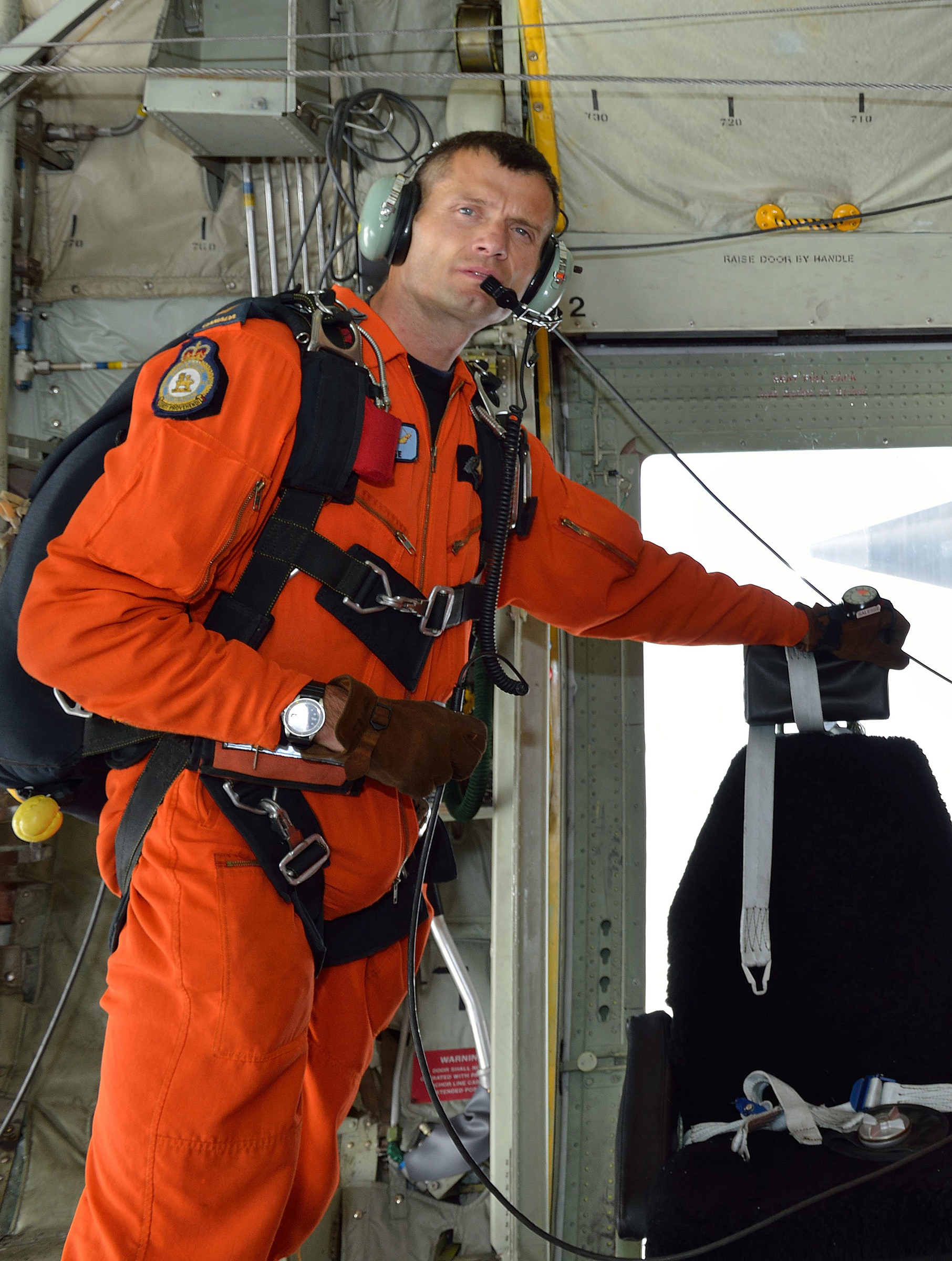 Sergeant Mark Salesse, an experienced search and rescue technician from 17 Wing Winnipeg, Manitoba, was missing after an incident in a training exercise in Banff National Park, Alberta, on Thursday, February 5, 2015.  His remains were recovered on Wednesday, February 11, 2015. PHOTO: Sergeant Bill McLeod