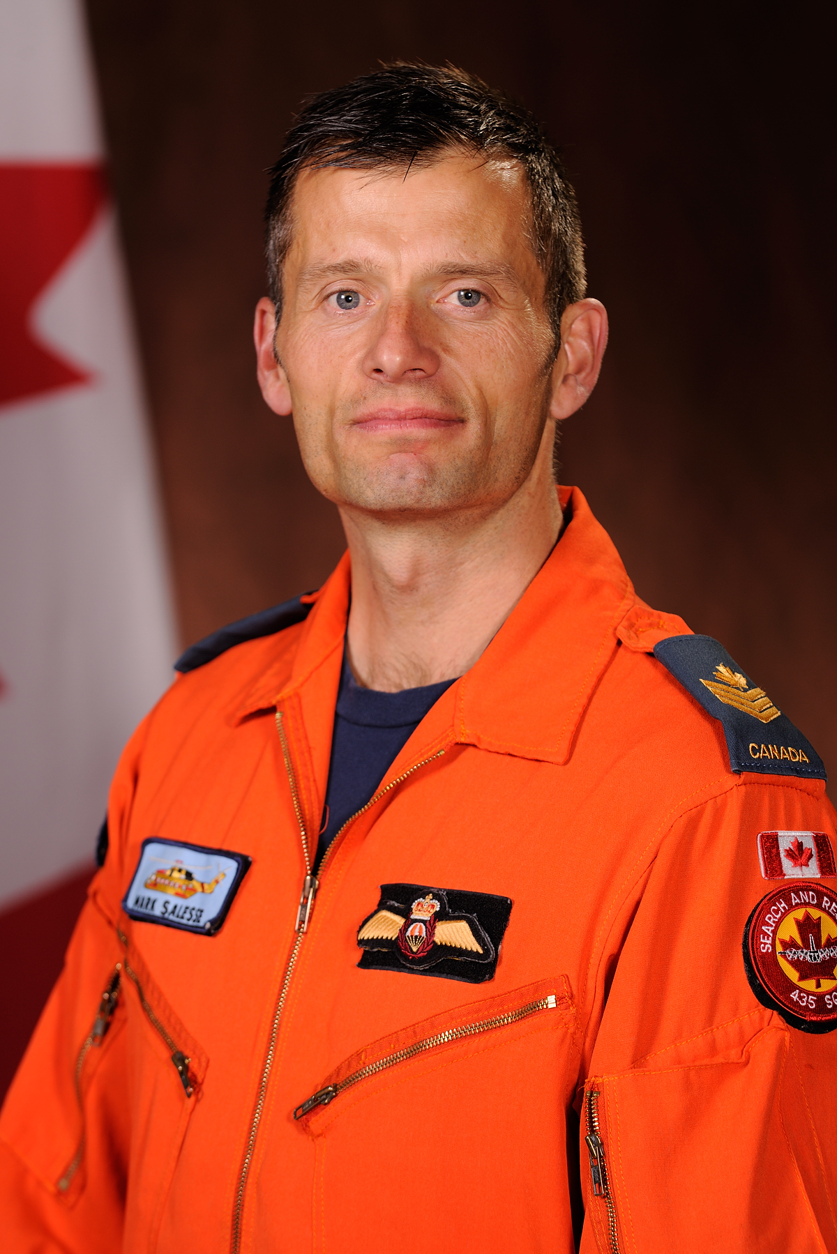 Sergeant Mark Salesse. PHOTO: DND
