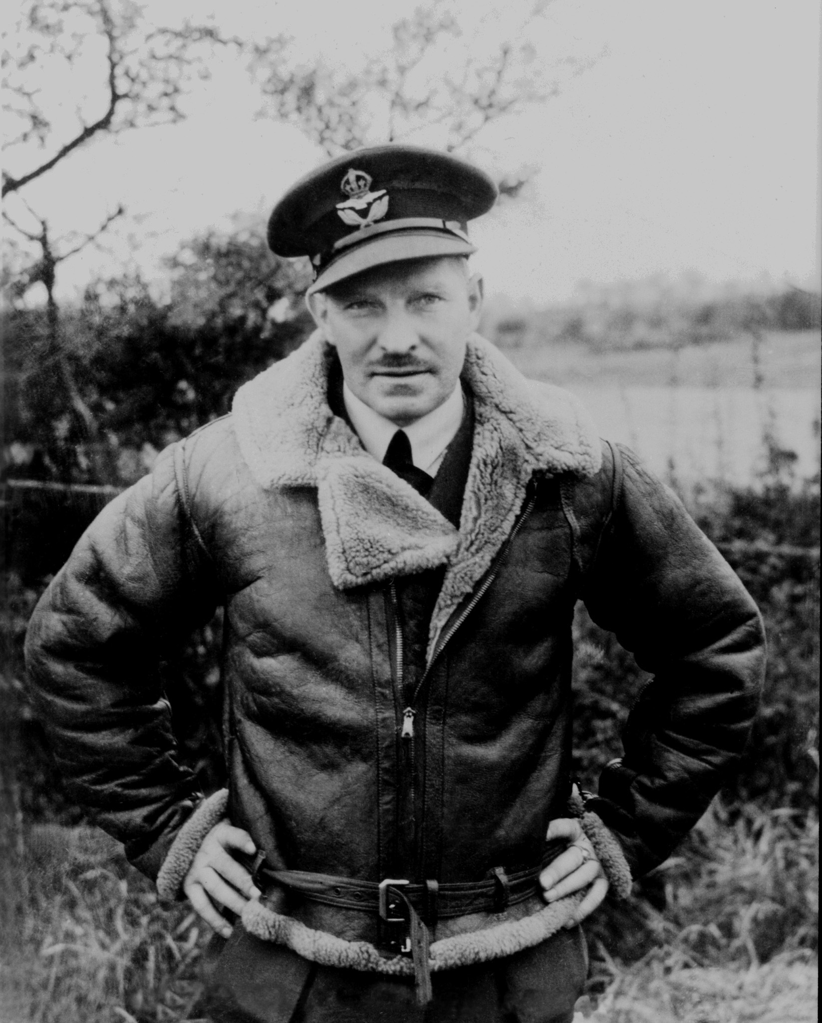 Squadron Leader Ernest A. McNab, the commanding officer of No. 1 Squadron during the Battle of Britain. PHOTO: Library and Archives Canada, PL-905