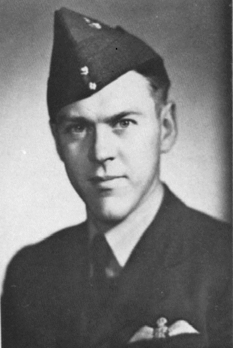 Pilot Officer John Blandford Latta.
