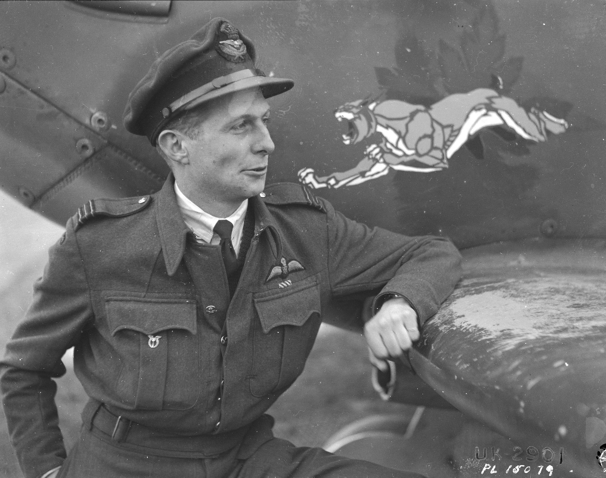 Squadron Leader Lloyd Chadburn, commanding officer of 416 Squadron, RCAF, won his Distinguished Flying Cross for leadership at Dieppe. He made multiple sorties in his Spitfire V. This photo was taken on December 3, 1942. PHOTO: DND Archives, PL-15079