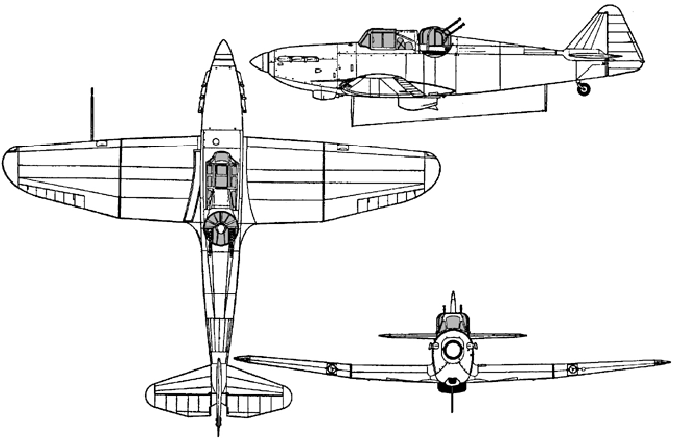 Bolton Paul Defiant aircraft identification images. IMAGE: DND