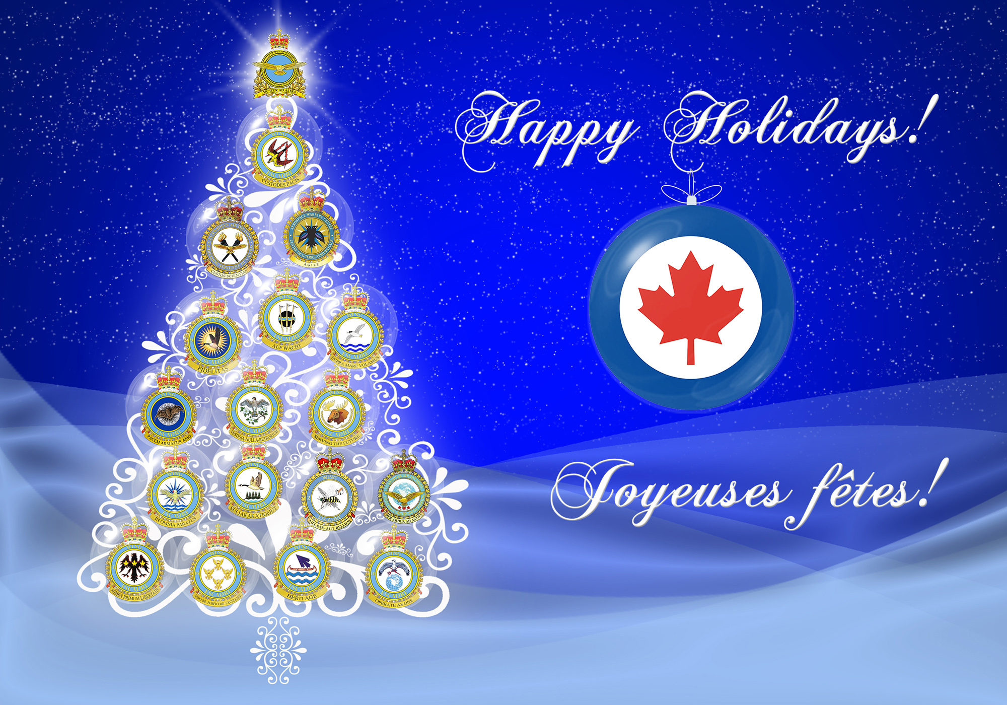 archived - royal canadian air force | news article | merry christmas