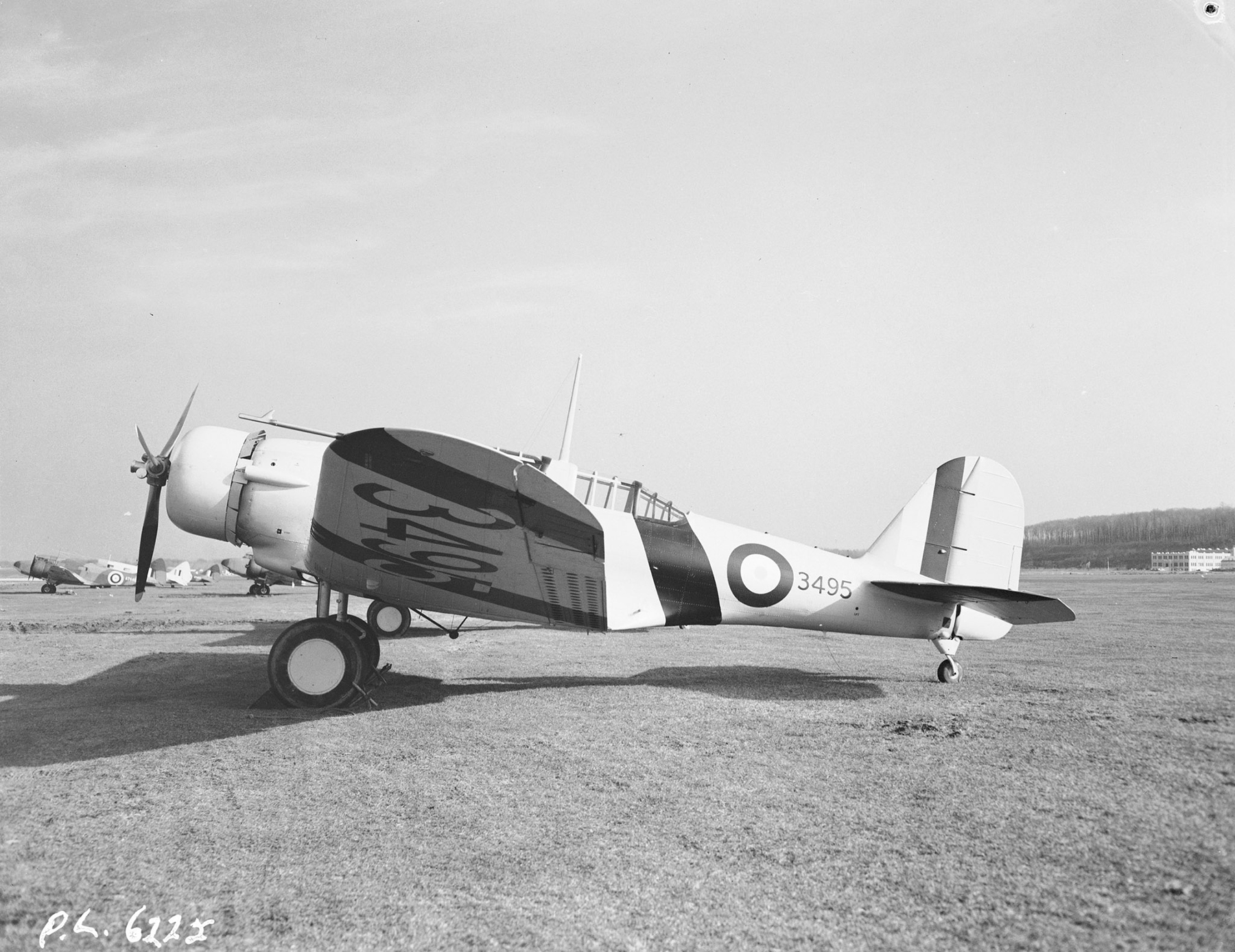 A port-side view of Northrop Nomad aircraft No. 3508, taken November 20, 1941. PHOTO: PL-6225, DND Archives