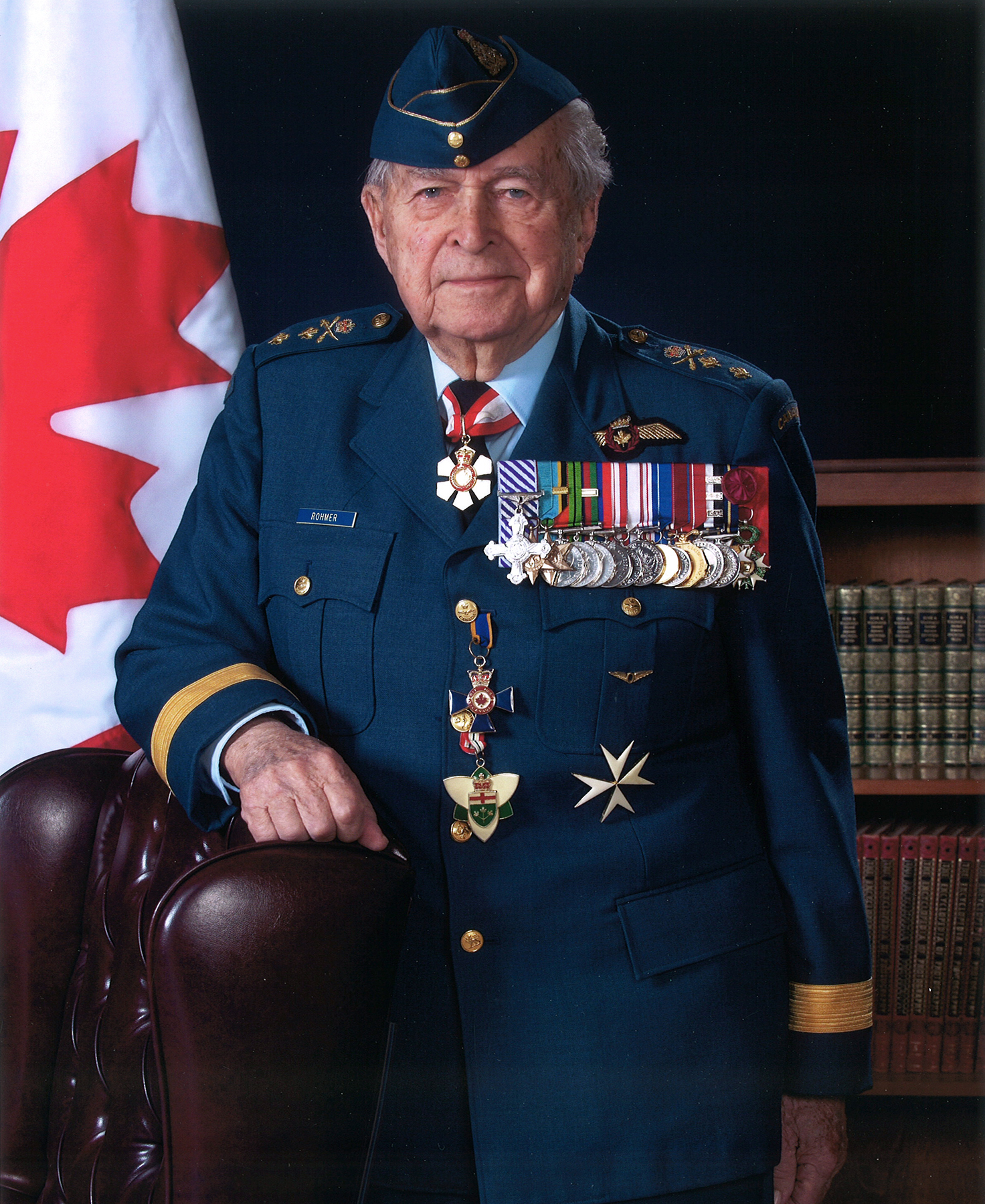 Honorary Lieutenant-General and Special Advisor to the Chief of the Defence Staff Richard Rohmer, in 2015. PHOTO: DND