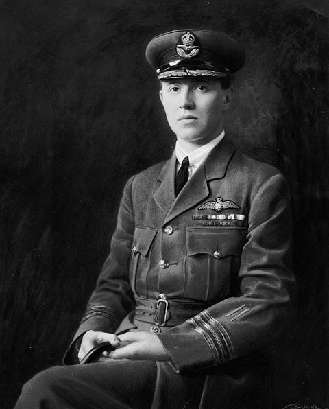 First World War pilot William Barker is Canada's most decorated war hero.