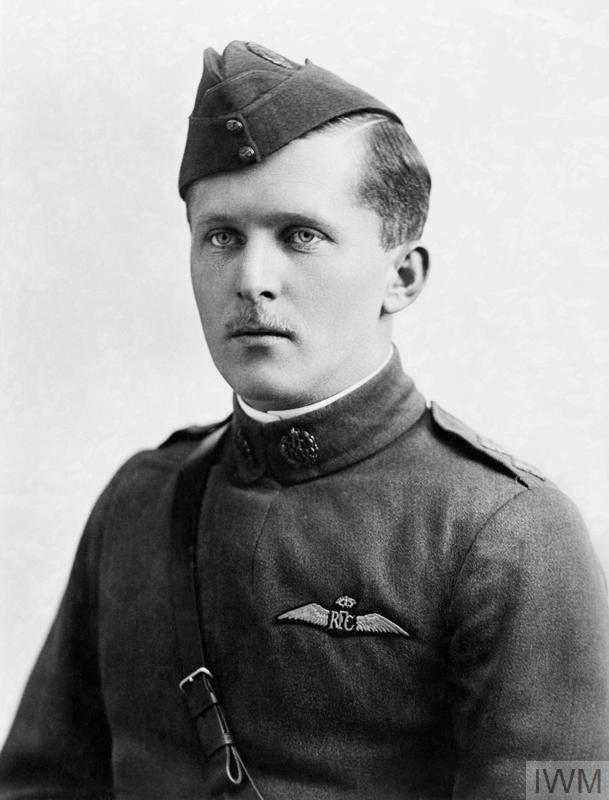 Captain William Avery Bishop, photographed while serving with No. 60 Squadron, Royal Flying Corps. PHOTO: Imperial War Museum, Q 68089