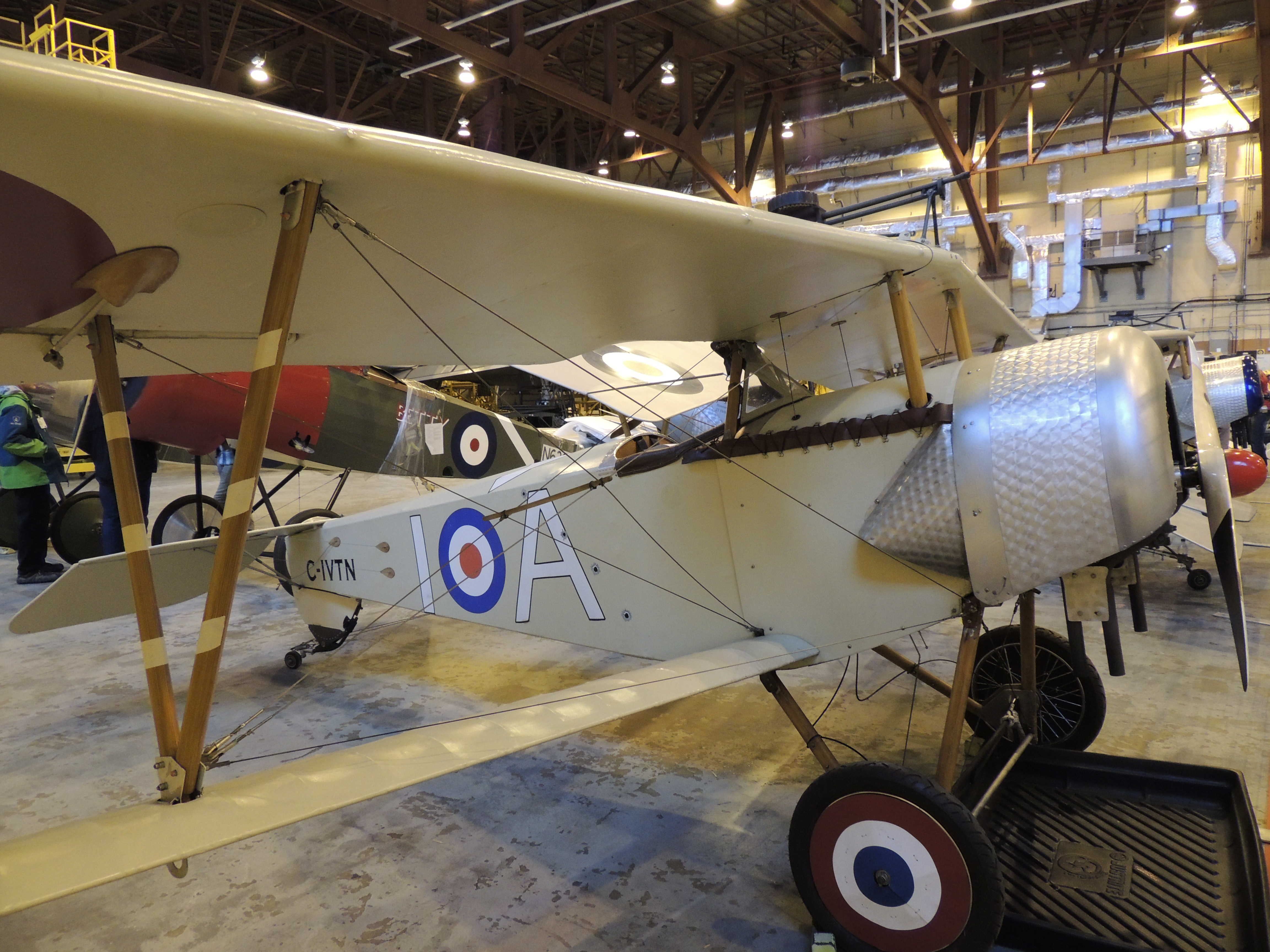 One of the Vimy Flight Association's Nieuport XI aircraft. PHOTO: Major Holly-Anne Brown