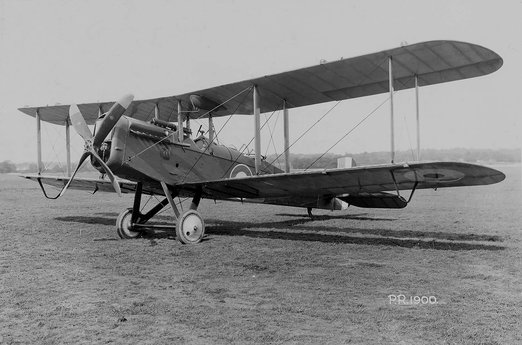 An undated photograph of an Airco De Havilland 4 light day bomber like the one Second Lieutenant Briggs Kilburn Adams had picked up for delivery to his squadron and which crashed on his return flight. Lieutenant Adams, 25, died in No. 10 Stationary Hospital on March 14, 1918. PHOTO: USAF, 050405-F-1234P