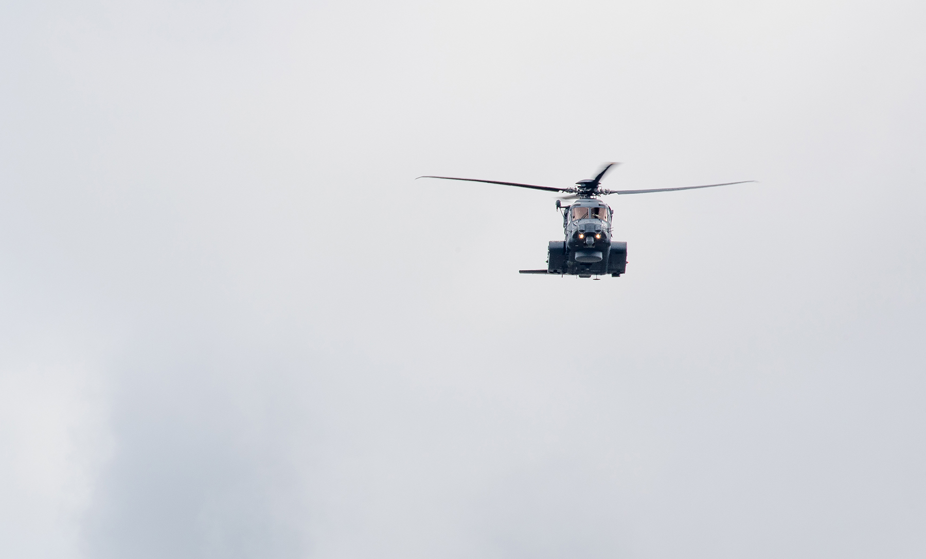 The CH-148 Cyclone, seen here overflying Ottawa, Ontario, on July 2, 2017, in celebration of Canada's 150th birthday, will replace the CH-124 Sea King as Canada's main ship-borne maritime helicopter. It will conduct surface and subsurface surveillance and control, utility, and search and rescue missions, and will also provide tactical transport for national and international security efforts. It has a maximum cruise speed of 250 km/h, and can fly 450 kilometres without refueling. PHOTO: Patrick Cardinal