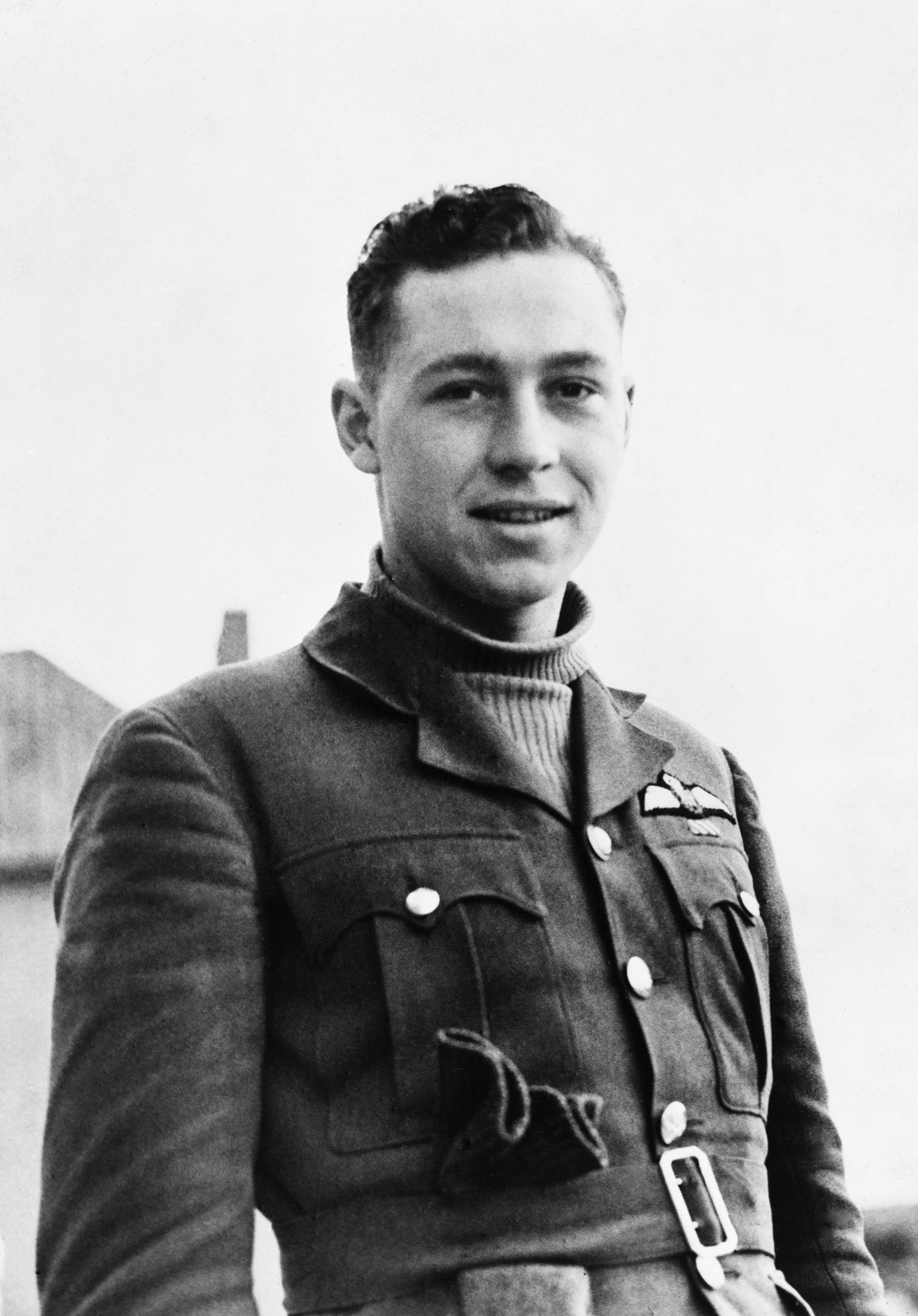 Pilot Officer William Lidstone McKnight. PHOTO: © Imperial War Museum, CH 1321