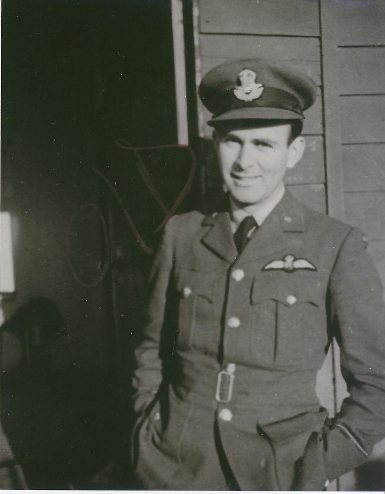 "Pilot Officer Leroy Gover of the Royal Air Force's No. 113 ""Eagle"" Squadron, at RAF Biggen Hill, United Kingdom. He is one of 10 Coloradans who served in the RCAF and RAF during the Second World War and who were recently inducted into the Colorado Aviation Hall of Fame. PHOTO: American Air Museum in Britain, UPL 18935"