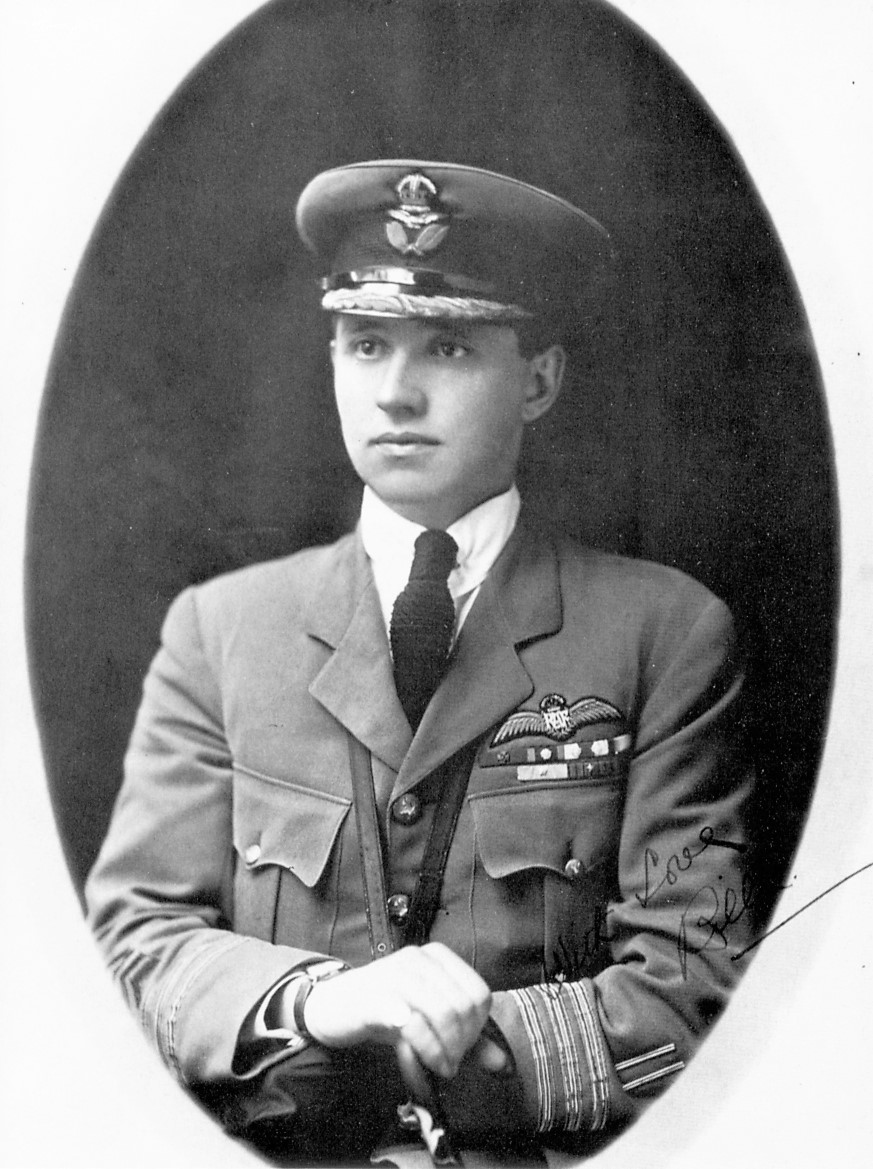 "At only 24, youthful hero William Barker, seen here in RCAF uniform, was a highly decorated pilot, holding the rank of Wing Commander, to whom Kathryn Munro dedicated her poem, ""Requiem."" PHOTO: Internet"
