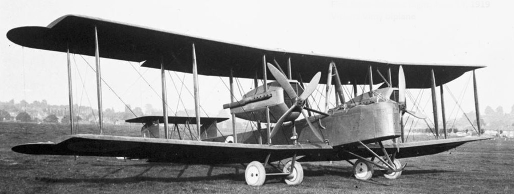 In 1919, John Alcock and Arthur Brown flew a First World War Vickers Vimy bomber, accomplishing the first non-stop flight across the Atlantic. PHOTO: Internet