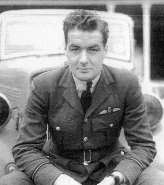 Flying Officer Eric Walter Beardmore, who flew during the Battle of Britain, became the first commanding officer of 118 Squadron in December 1940. The squadron's role was to provide the air defence of Halifax, Nova Scotia. PHOTO: Battle of Britain London Monument website