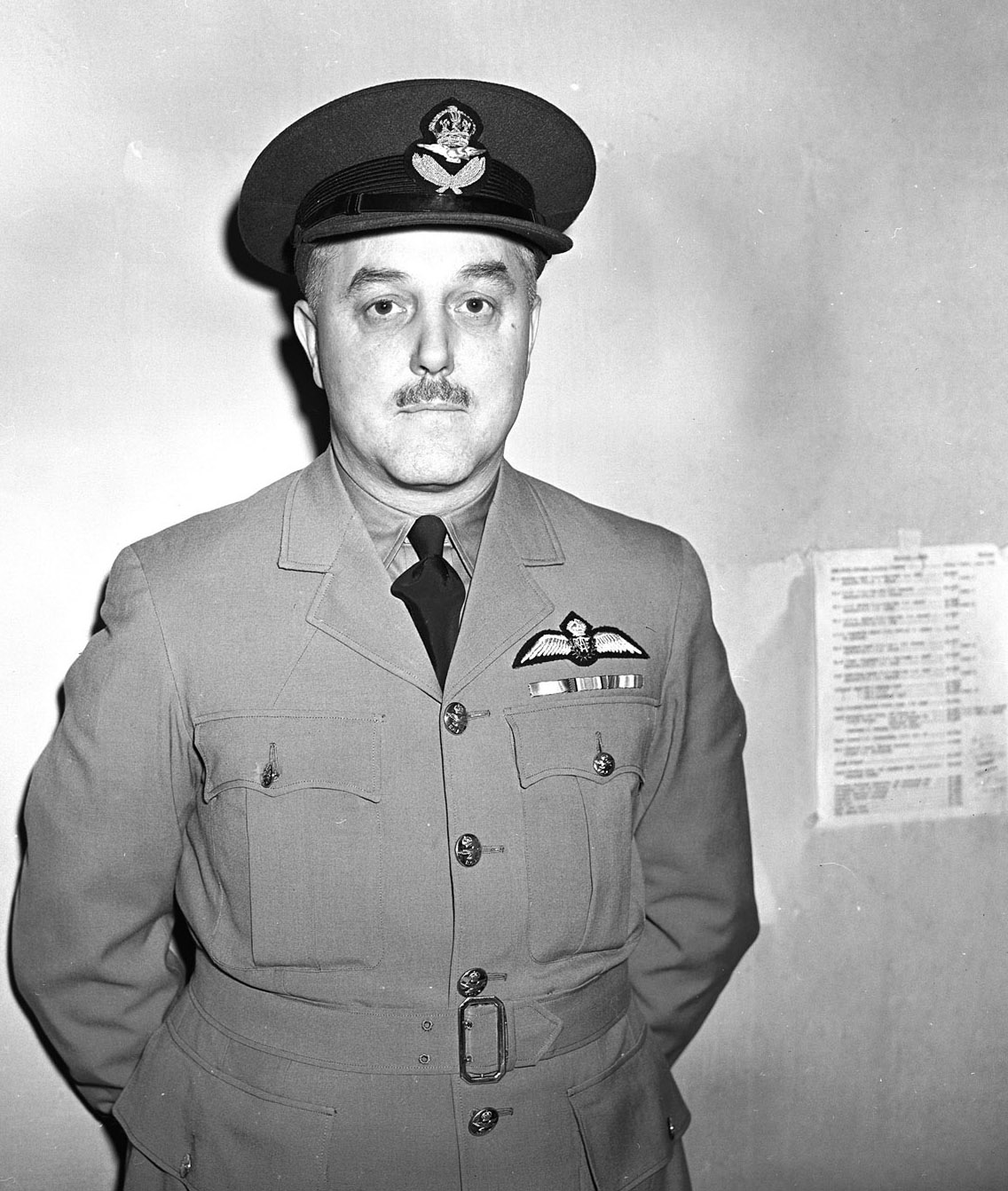 A portrait of Battle of Britain pilot Wing Commander Arthur M. Yuile, taken on June 17, 1942, just after he took command of 118 Squadron, whose role it was to provide air defence of Halifax, Nova Scotia. DND Archives, PL-9183
