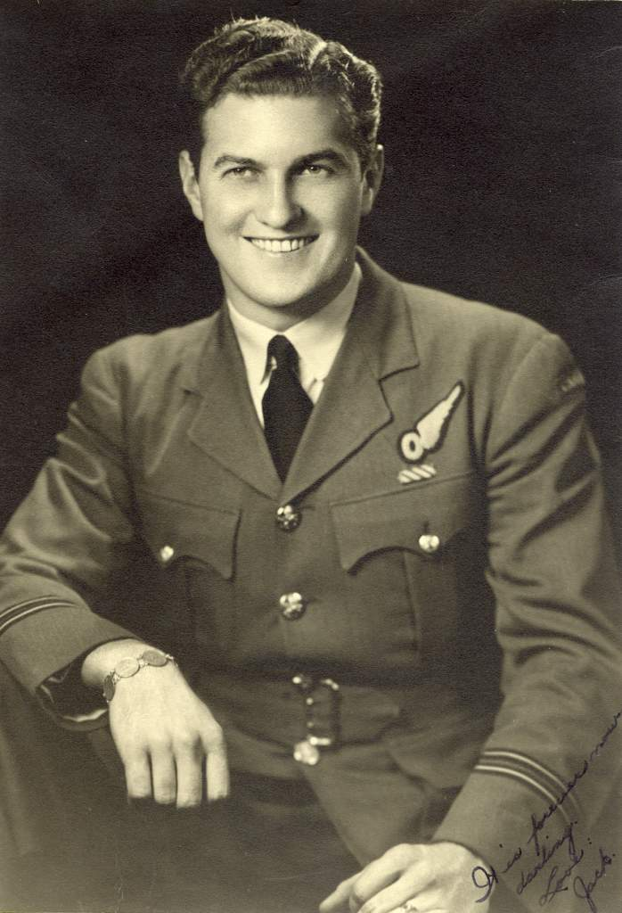 Flight Lieutenant Jack Watts flew with Bomber Command during the Second World War. PHOTO: Submitted