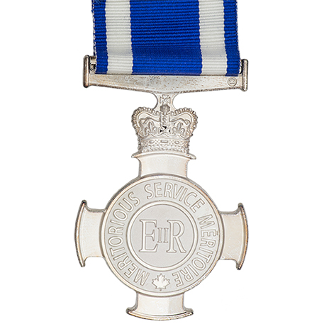 Meritorious Service Cross (Military Division). IMAGE: DND