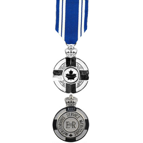 Meritorious Service Medal (Military Division). IMAGE: DND