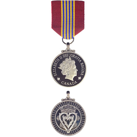 The Sovereign's Medal for Volunteers: PHOTO: DND