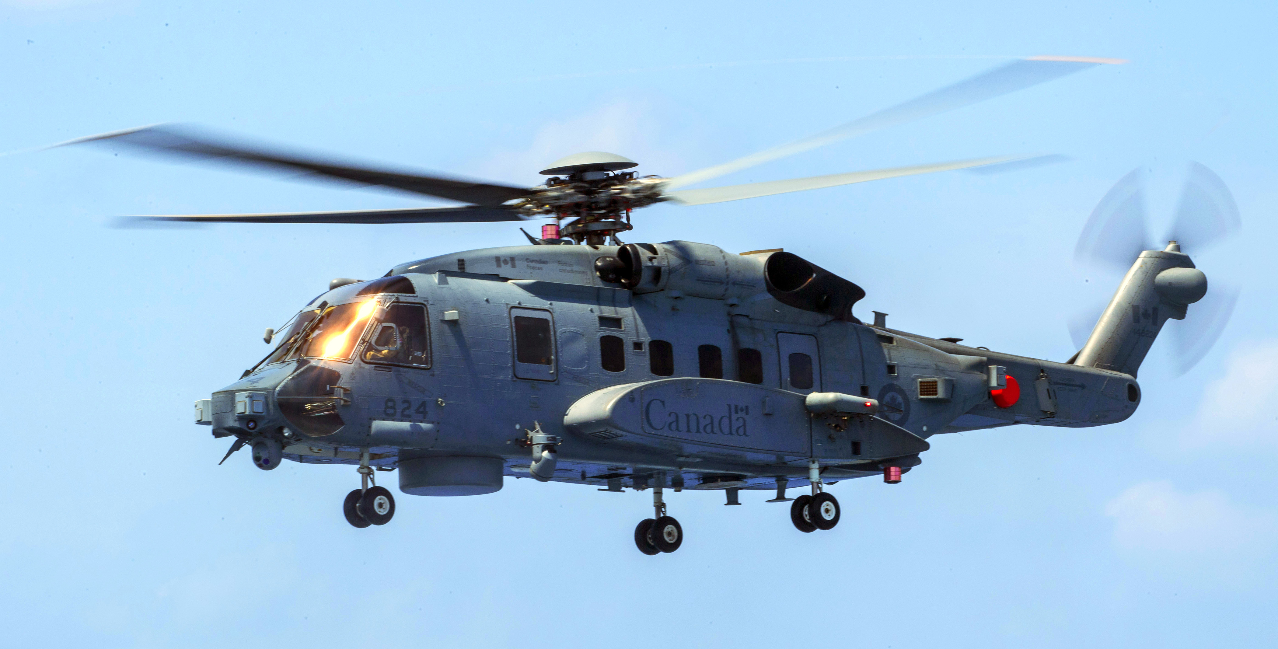 A CH-148 Cyclone helicopter
