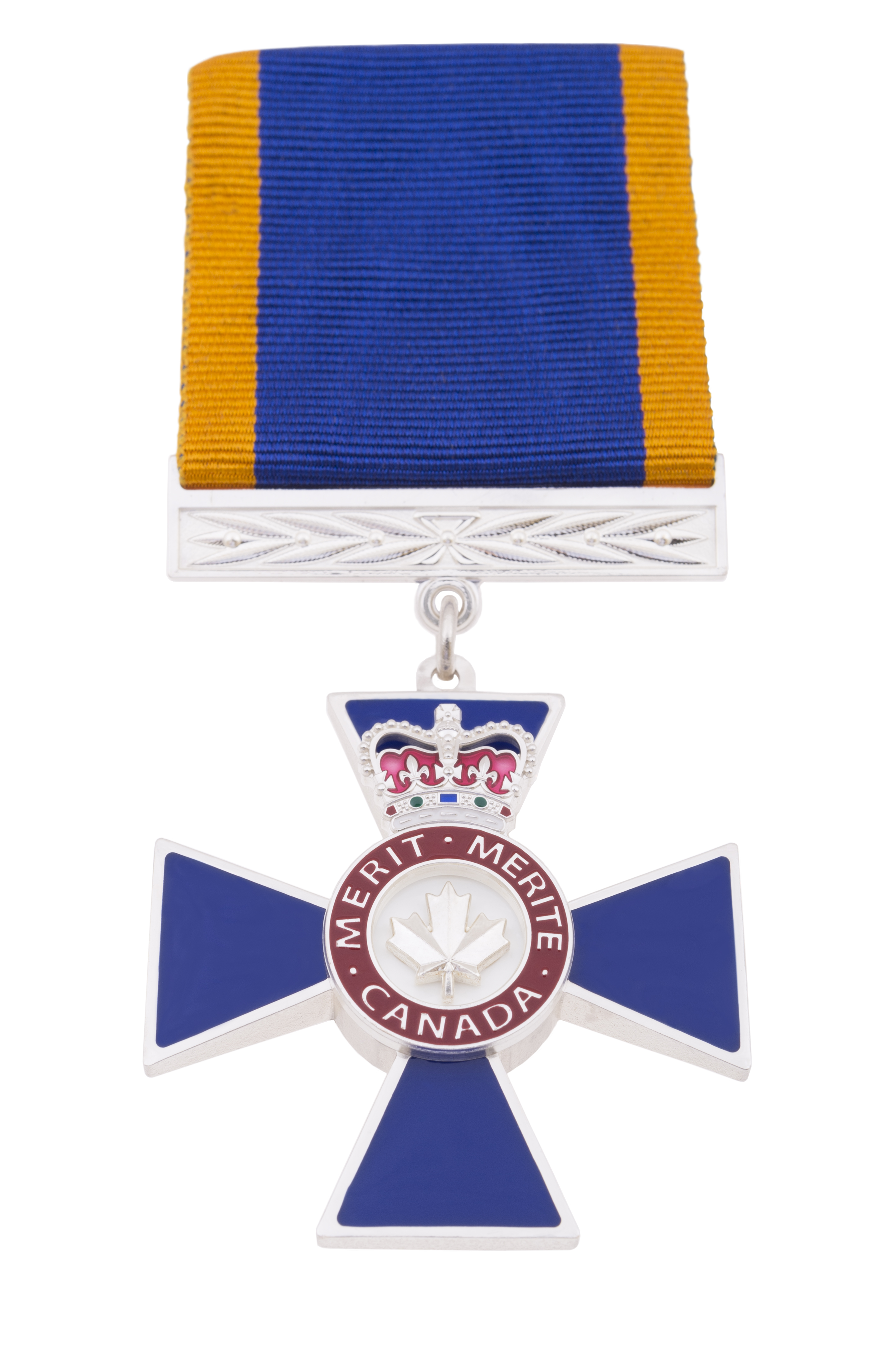 The level of Member of Military Merit, which was awarded to Master Warrant Officer Edward Hebb, recognizes exceptional service or performance of duty. PHOTO: https://www.gg.ca/en/honours/canadian-honours/directory-honours/order-military-merit