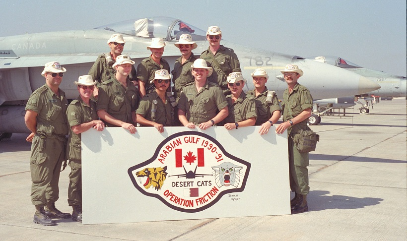 On windswept heights ii rcaf historical royal canadian air the first gulf war 1990 1991 sciox Gallery