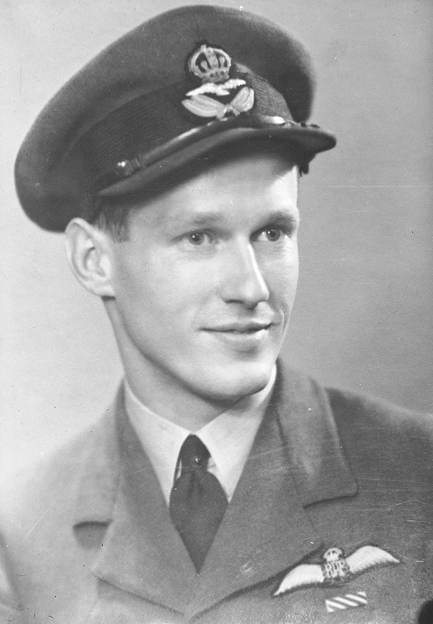 Photo of Squadron Leader Ian Willoughby Bazalgette, VC, DFC