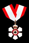 Order of Canada - Officer insignia shown