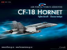 CF-18 Hornet - Front View