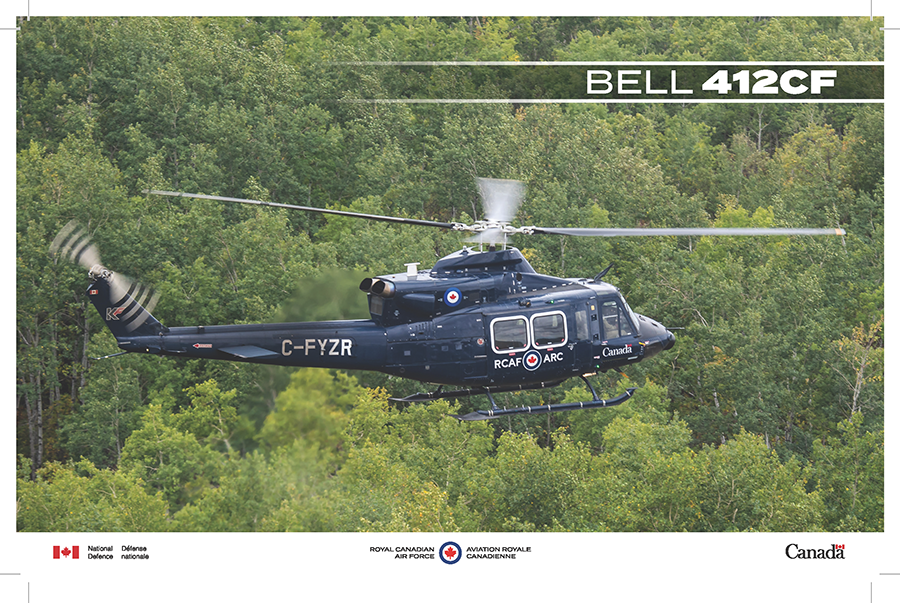Fact sheet image for the Bell 412CF