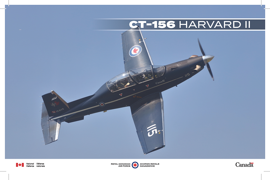 CT-156 Harvard II fact sheet image