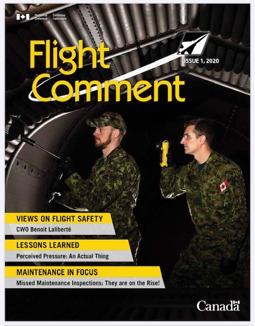 Flight Comment Issue 1, 2020 Cover page