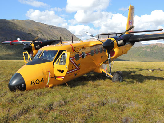 CC138804 Twin Otter accident site
