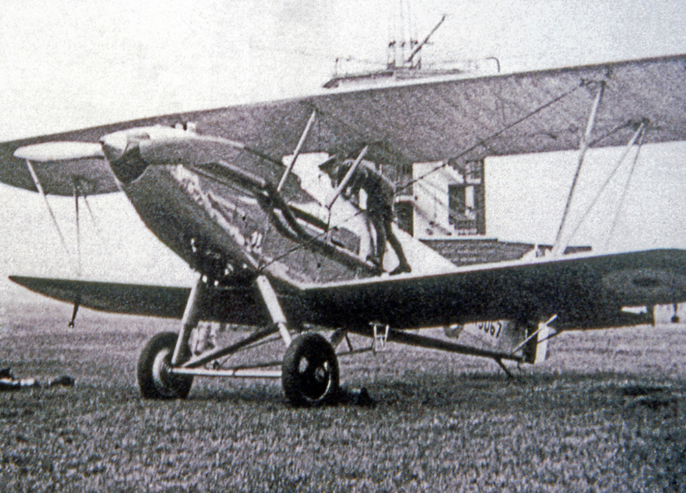 In this undated photograph, Hawker Audax 3067, of No. 26 Squadron, is flight-checked at RAF Catterick in North Yorkshire, England. PHOTO: RAF