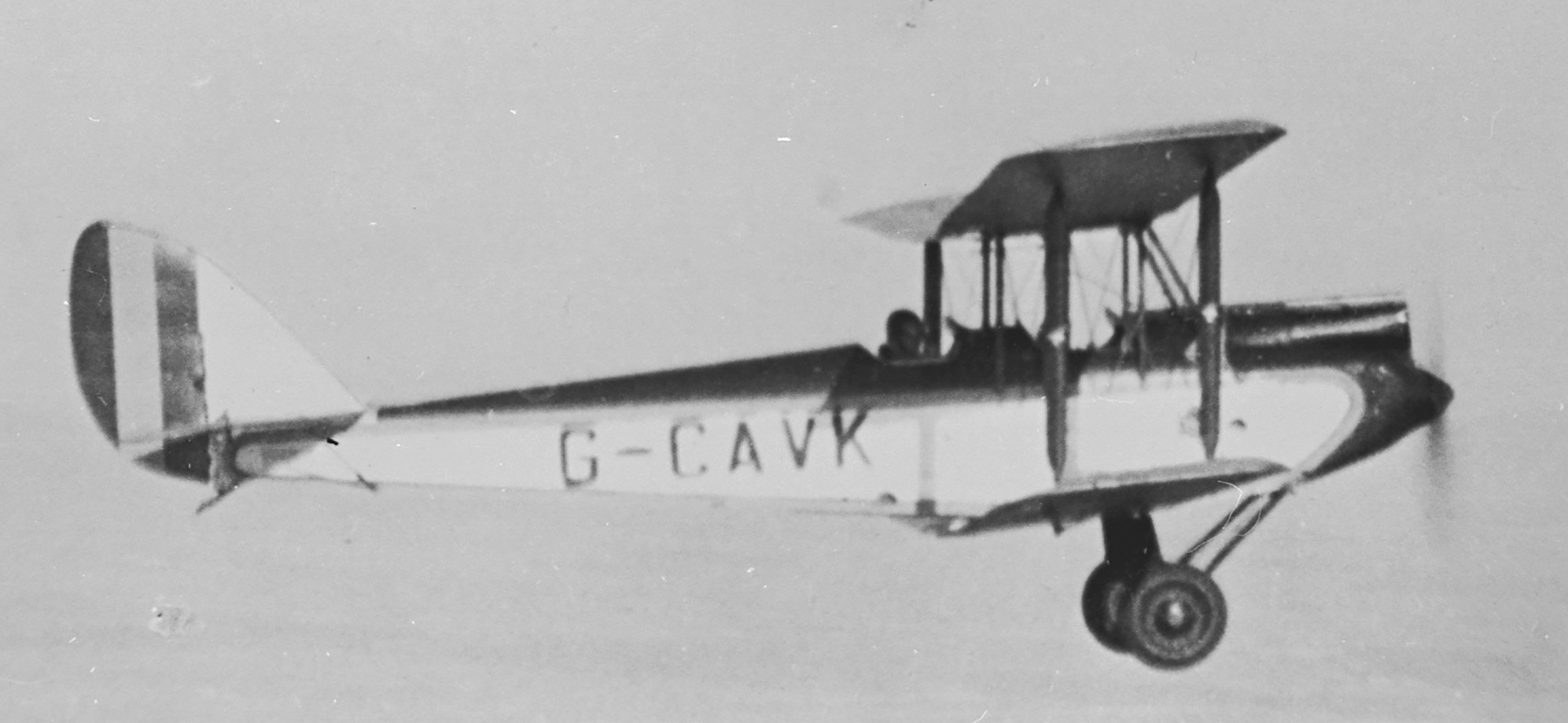 A de Havilland Gipsy Moth in flight. PHOTO: Courtesy of Comox Air Force Museum